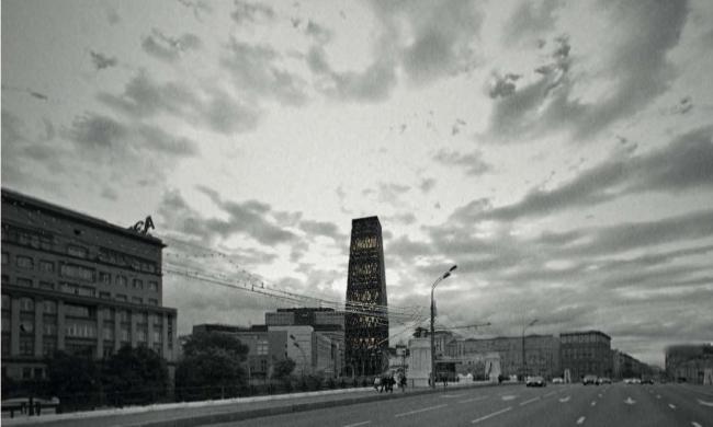 Курсовой проект Артёма Польского на тему «Деревянная башня». Студия Николая Белоусова. МАРШ, 2016