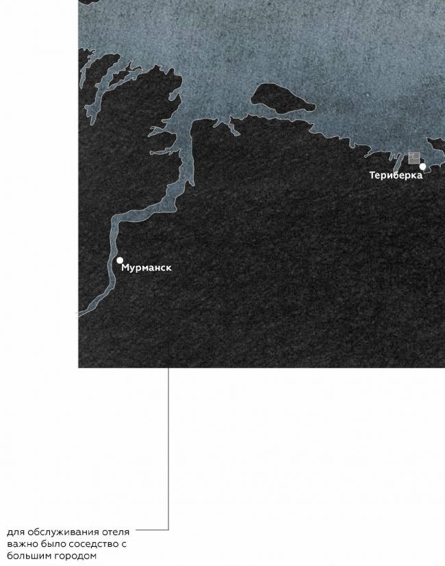 Курсовой проект Анны Пановой на тему «Деревянная башня». Ситуация. Студия Николая Белоусова. МАРШ, 2016