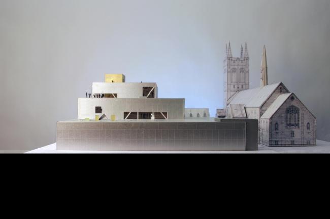 Национальный музей изящных искусств Квебека – павильон Пьера Лассонда © OMA