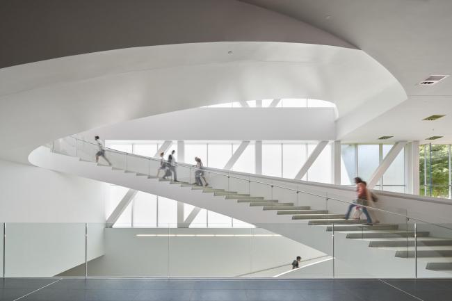 Национальный музей изящных искусств Квебека – павильон Пьера Лассонда © Bruce Damonte