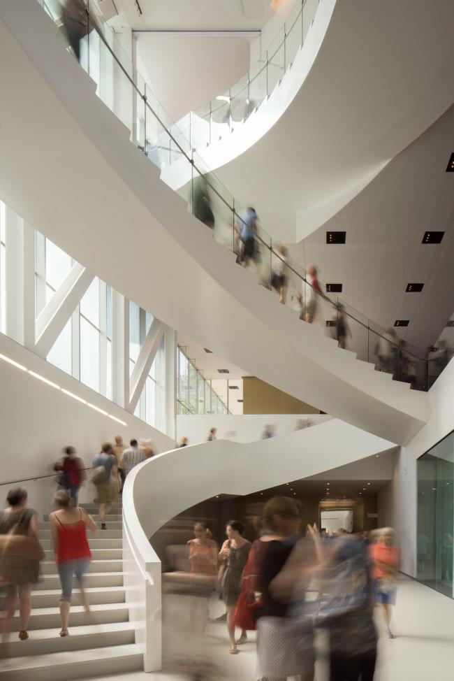 Национальный музей изящных искусств Квебека – павильон Пьера Лассонда © Nic Lehoux