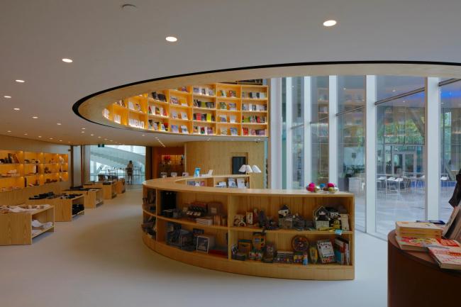 Национальный музей изящных искусств Квебека – павильон Пьера Лассонда © Philippe Ruault