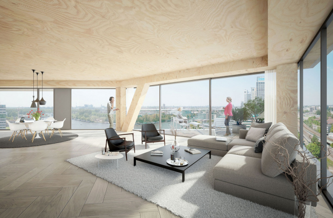 Башня HAUT © Team V Architecture