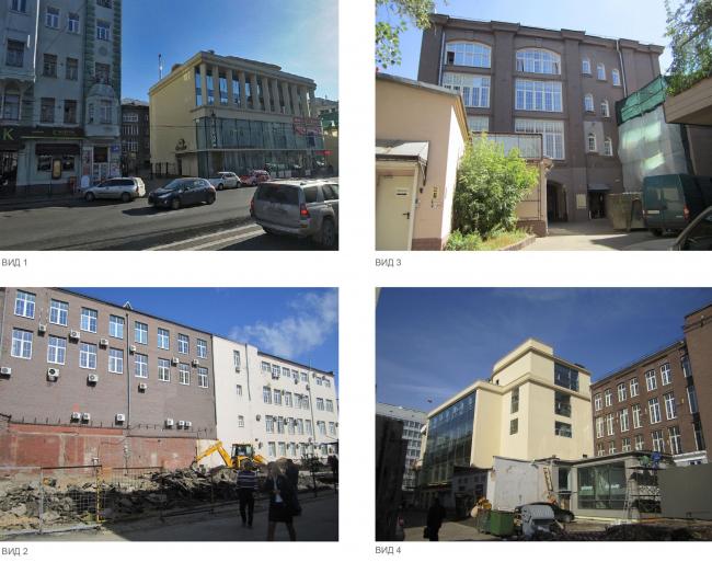 Residential project at Novoslobodskaya Street. The current state © ADM