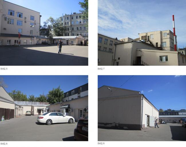 Жилой дом на ул. Новослободская. Существующее положение © ADM
