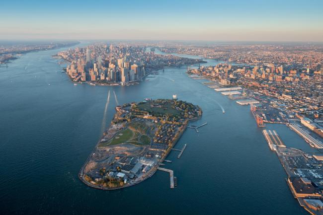 Парк Говернорс-Айленд. 1-я очередь строительства. 2014 © Iwan Baan