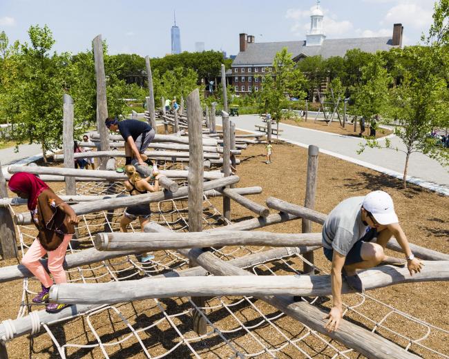 Парк Говернорс-Айленд. 1-я очередь строительства. 2014 © Kreg Holt