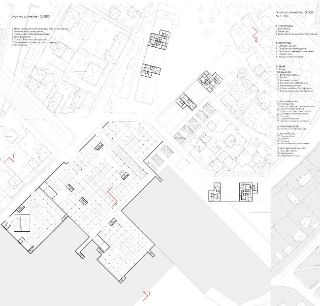 Периферийный городской центр в Севастополе. Дипломный проект Александры Башенковой