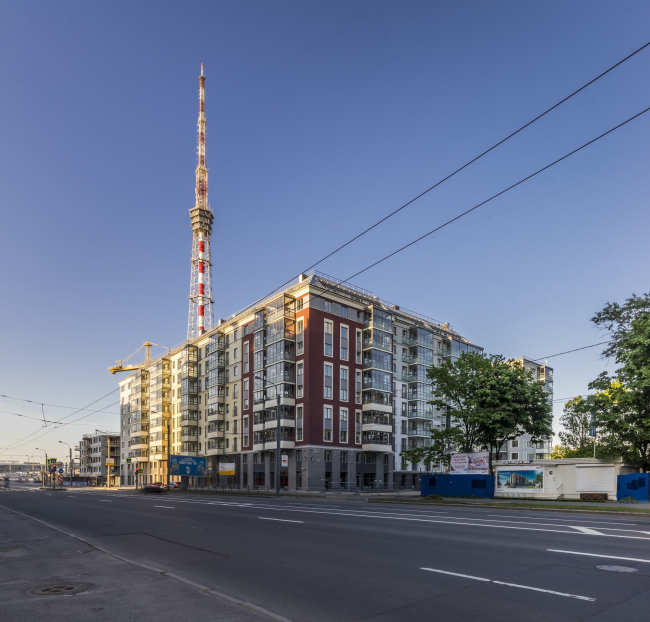 """Жилой комплекс «Skandi Klubb», 1 очередь. Постройка, 2016 © А.Лен совместно с """"Semren & Mansson"""""""