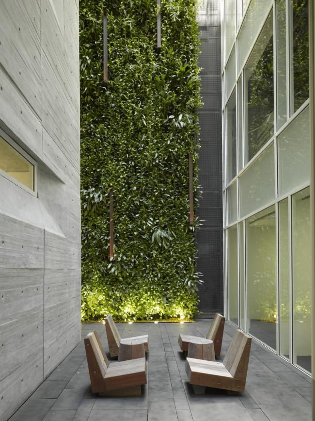 Офисное здание Leblon © Roland Halbe