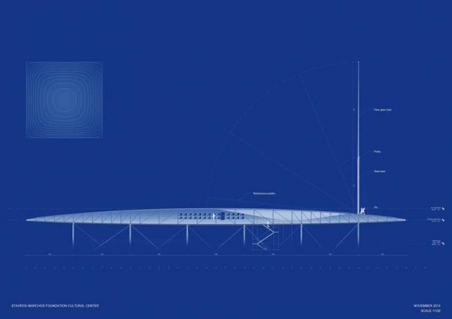 Культурный центр Фонда Ставроса Ниархоса © Renzo Piano Building Workshop