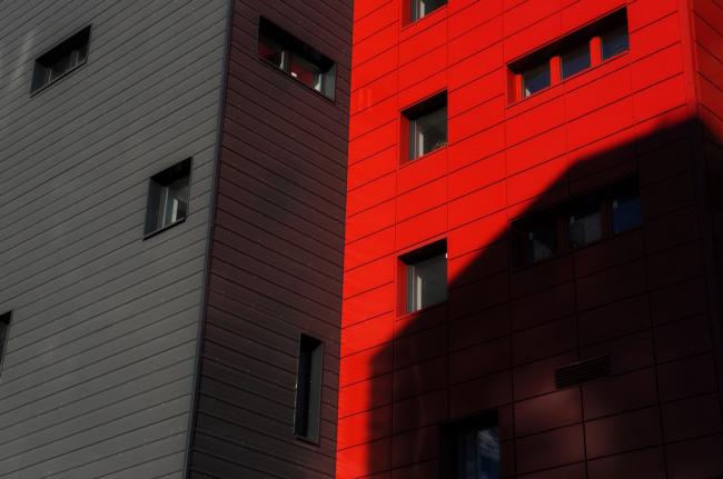 Многоквартирный жилой дом на набережной Варкауса. Постройка, 2014 © Петрозаводскархпроект