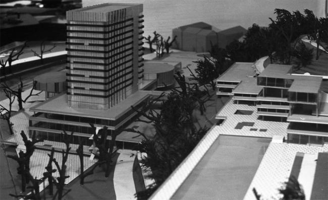 Конкурсный проект Thermal'a. 1964. Макет. Фото из архива Веры Махониной