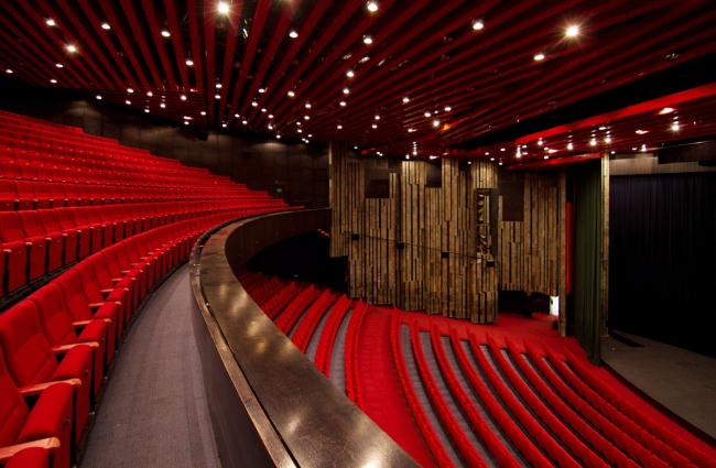 Большой зал конгресс-центра. Источник: http://www.carlsbad-convention.cz/cz/kongresove-centrum-lazensky-hotel-thermal-karlovy-vary