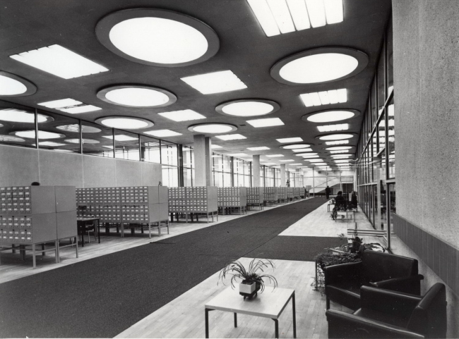 Interior. Photo taken in the 1970's © IMO