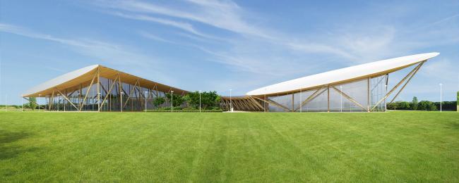 Проект физкультурно-оздоровительного комплекса © Arch group