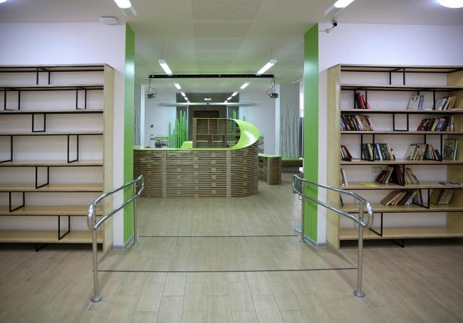 Проект Дома культуры «Зодчие» в Москве © Arch group