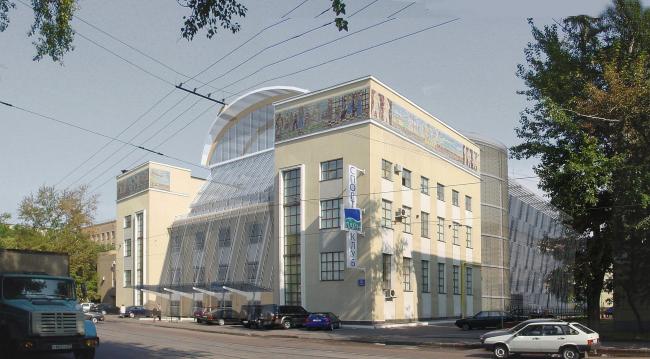 Реконструкция и расширение здания Кожевнических бань, ул. Кожевническая © Архитектурное бюро Асадова