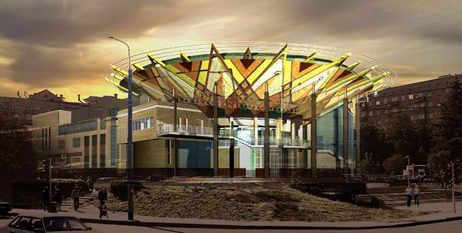 Реконструкция и расширение здания Кожевнических бань, ул. Барклая де Толли © Архитектурное бюро Асадова