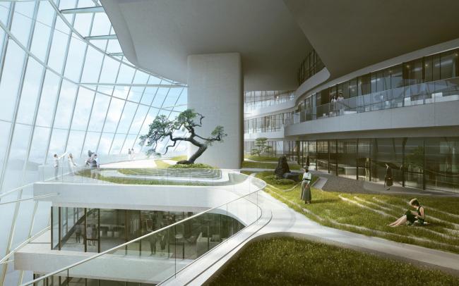 Центр дизайна Xin Hee © MAD