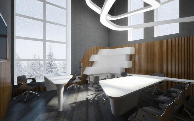 Офис крупной украинской торговой сети © Dmytro Aranchii Architects