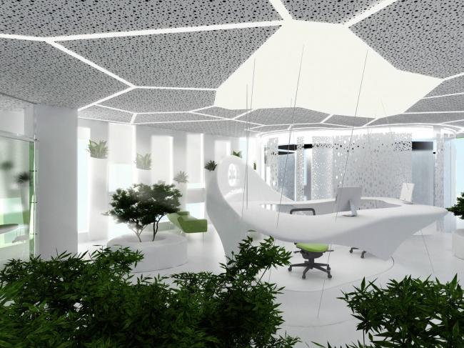 Концепция офисного пространства для компании Kimberly-Clark © Arch group