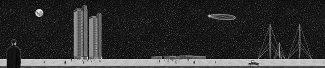 Реконструкция города Магнитогорск. Дипломный проект Михаила Князева