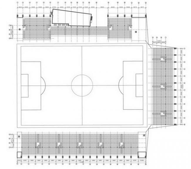Стадион «Локомотив» © Arch group