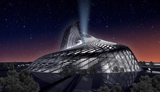 Многофункциональный комплекс, г. Астана © Архитектурное бюро Асадова