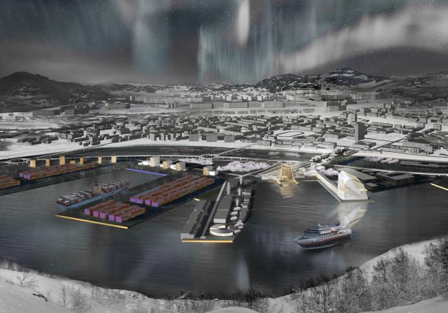 Международный морской терминал в Мурманске. Дипломная работа Ольги Кузнецовой, бакалавриат. Москва, 2016