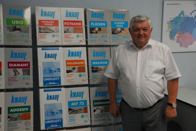 Руководитель отдела маркетинга обособленного подразделения ООО «КНАУФ ГИПС» в Перми Павел Токарев. Фото предоставлено компанией «КНАУФ»