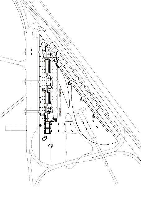 Транспортный комплекс «Евровокзал» © Архитектурное бюро Асадова