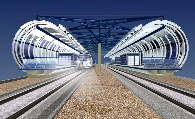 32 станции МКЖД © Архитектурное бюро Асадова