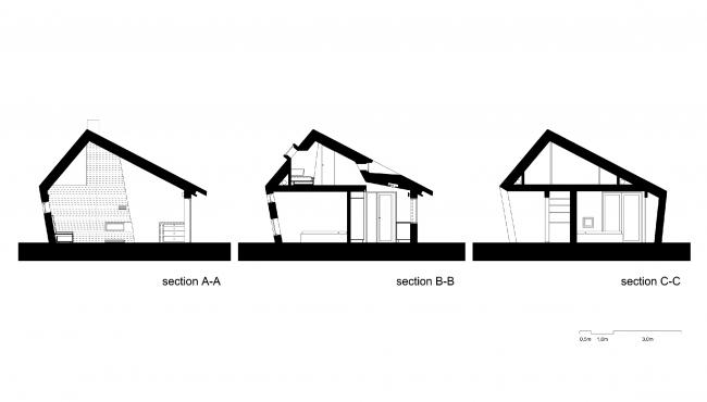 Частный жилой дом в Рюфюльке, Норвегия. План © Olav Resell