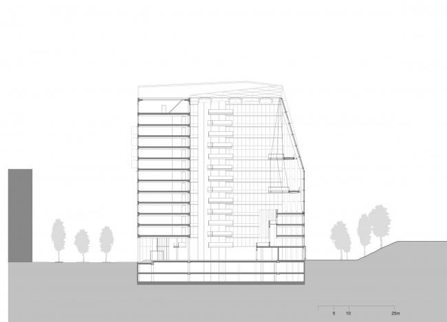 Офисное здание The Edge © PLP Architecture