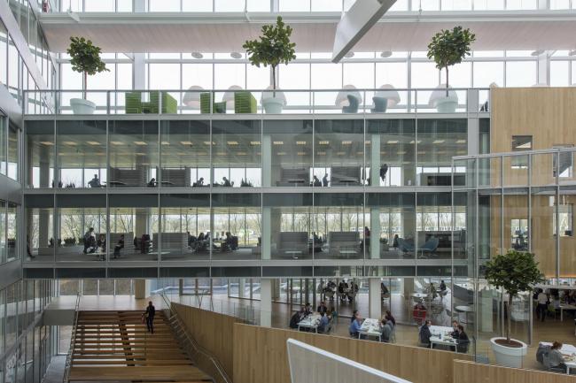 Офисное здание The Edge © Dirk Verwoerd. Предоставлено PLP Architecture