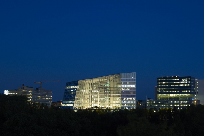 Офисное здание The Edge © Raimond Wouda. Предоставлено PLP Architecture
