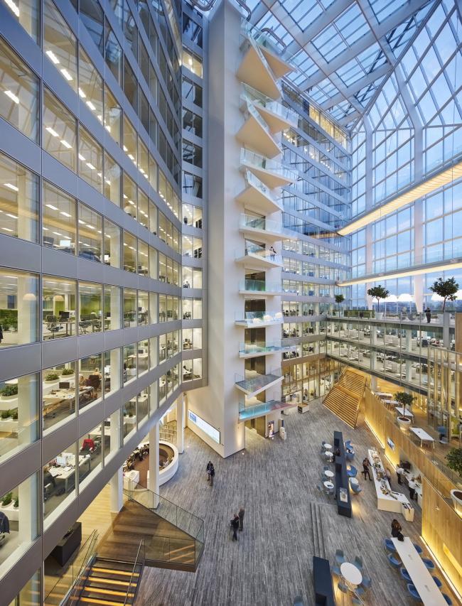 Офисное здание The Edge © Ronald Tilleman. Предоставлено PLP Architecture