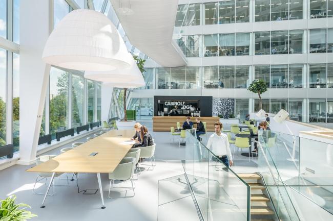 Офисное здание The Edge © Фотограф – Horizon Photoworks, архитектор интерьеров – Fokkema & Partners