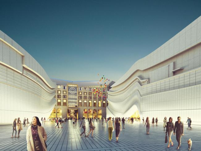 Торгово-развлекательный центр Paradise City © MVRDV
