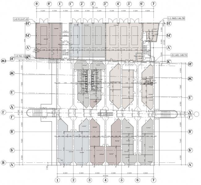 Диспетчерский пункт Гагаринского туннеля © Архитектурное бюро Асадова
