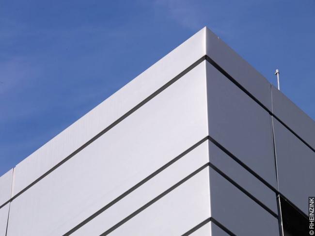 Новое здание университета в Оснабрюке. Фото предоставлено компанией RHEINZINK