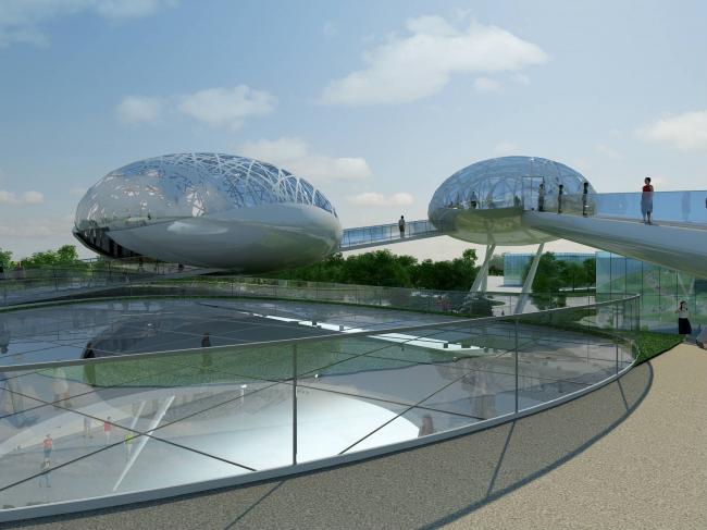 Проект павильона России на EXPO 2010 в Шанхае © Arch group
