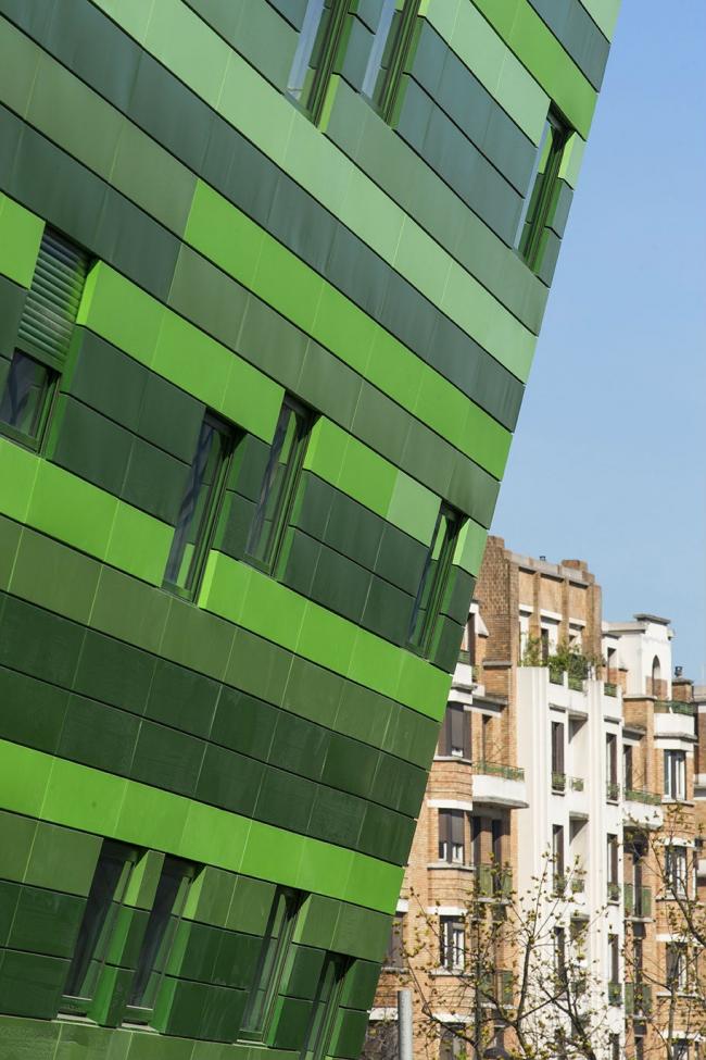 Отель Hipark Hotel Paris la Villette © Luc Boegly