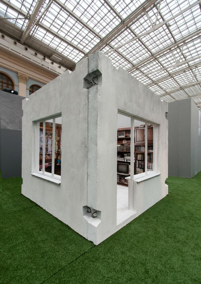 Павильон «Панельная ностальгия» © Arch group
