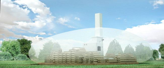 Проект павильона на фестиваль Архстояние 2012  © Arch group