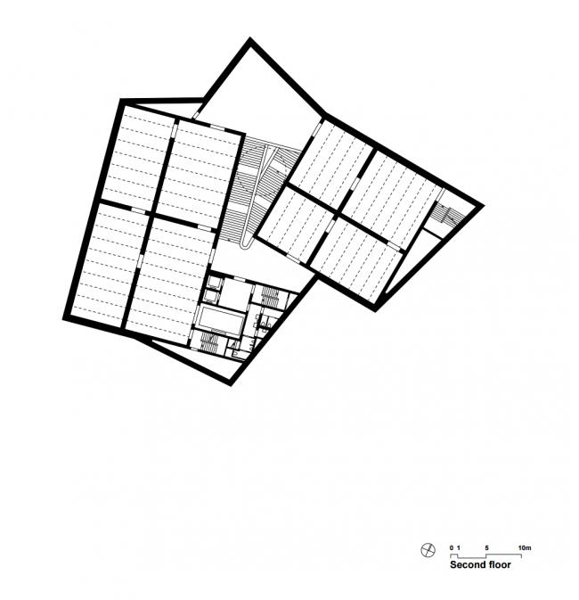 Kunstmuseum Basel. Новое здание. Третий этаж. Christ & Gantenbein