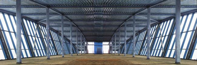 Торгово-пешеходный мост, 9 км. МКАД © Архитектурное бюро Асадова
