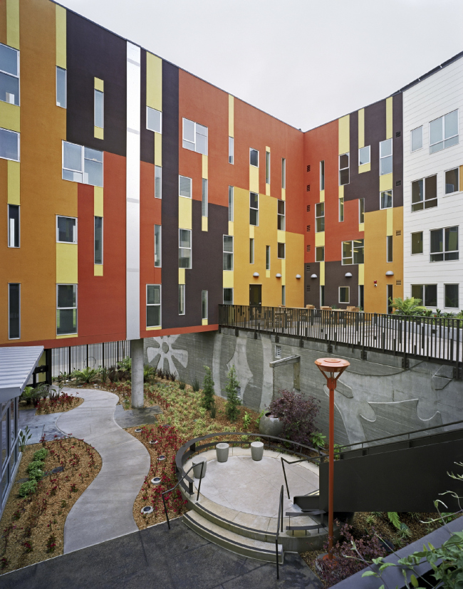 Armstrong Senior affordable housing © Brian Rose