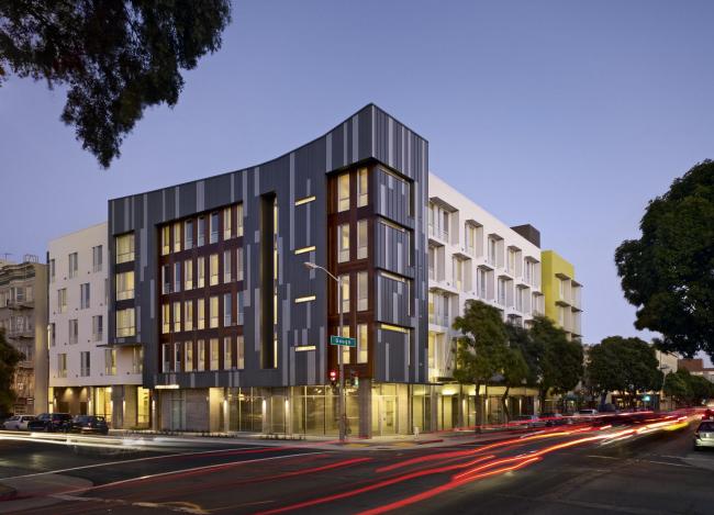 Социальный жилой комплекс Richardson Apartments © Bruce Damonte
